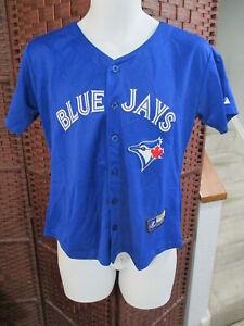 Girls Jose Bautista Toronto Blue Jays Baseball Jersey Size Medium