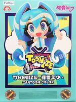 Hatsune Miku figure TOONIZE Hatsune Miku Figure Cartoon Color ver. FuRyu