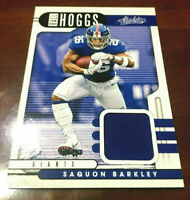 "2019 Panini Absolute Saquon Barkley BALL HOGGS Football Patch Jersey Relic ""WOW"""