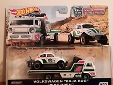 1/64 HOT WHEELS TEAM TRANSPORTERS VW BEETLE BAJA BUG