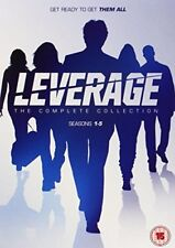 Leverage Complete Tv Movie Series Season 1-5 1 2 3 4 5 BRAND NEW DISC DVD SET