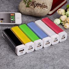Power esterna 2600 Batteria mAh Bank cavo micro usb integrato ai