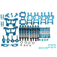 Metal Alloy Upgrade Parts Set for 1/10 RC HSP Electric Monster Truck 94108/94111