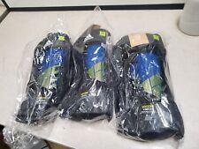 Lot of 3 New adidas X Reflex Shin Guard- Blue x2 medium x1 large