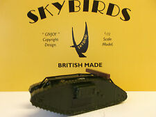 Skybirds Models. WW1 Female Mk IV Tank.