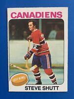 Steve Shutt 1975-76 O-Pee-Chee  Hockey Card #181 Montreal Canadiens OPC
