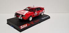 "Slot SCX Scalextric Team Slot 1000001 Audi Quattro A1 ""MASSLOT"" Nº4"