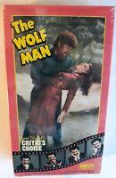 The Wolf Man (VHS, 1987) Lon Chaney Claude Rains MCA Horror ~ RARE Box *NEW*