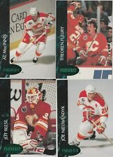 1992/93 Calgary Flames Parkhurst Emerald Ice Parallel Team Set Of 18 Cards