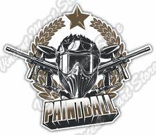 "Paintball Gun Rifle Extreme Team Sport Car Bumper Vinyl Sticker Decal 5""X4"""