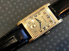 """Vintage Bulova Academy Oscars Model """"W"""" Watch Wristwatch Art Deco"""