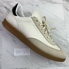COLE HAAN Mens (size 9 W) Grandpro Turf Sneaker Ivory Leather/Suede Shoes -V16
