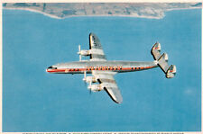 Trans Canada Airlines,Super Constellation,in Flight,c.1960s