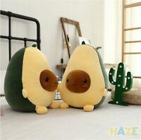 Cartoon Fruits Avocado Plush Toys Soft Pillow Stuffed Doll Cushion Home Decor