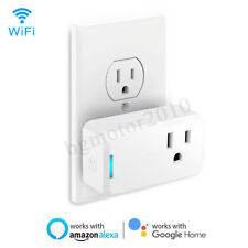 APP Remote Control WiFi Smart Plug Outlet Socket Wireless Timer Mini Switch Home