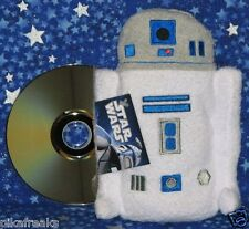 New w Tags Star Wars R2-D2 Footzeez Large Plush Doll Toy Comic Images USA Seller