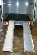 Alu Auffahrschiene Auffahrrampe Schiene Rampe 2000 kg 1980 mm für Anhänger