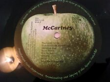 PAUL MCCARTNEY - MCCARTNEY LP / UK 1ST PRESS APPLE LAMINATED GATEFOLD A-2U B-2U