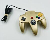 N64 Gold Controller TTX Tech Nintendo 64