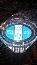 VINTAGE 1972 MUNICH MUNCHEN GERMANY OLYMPIC GAMES VEBA GLAS