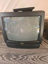 JVC C-JT14EKB Retro Vintage  CRT Colour TV Gaming Television Retro With Remote
