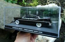 Rare 007 JAMES BOND Plymouth Savoy 1:43 BOXED CAR MODEL From Russia with Love