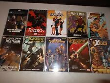 Marvel Comics TPB (Lot of 10 B) Trade Paperbacks New / Unread Wolverine Iron Man