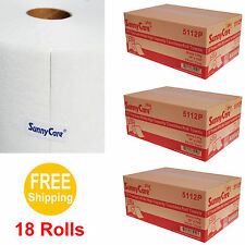 """10"""" Premium White High Capacity Touchless Paper Towel Rolls 700' Roll - 18 Rolls"""