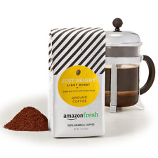 Fresh Just Bright Ground Coffee, Light Roast, 12 Ounce