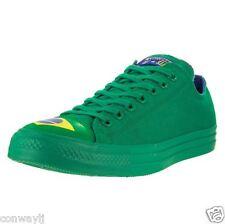 NWT Converse All Star 153998C Ox Green Blue Brazil Shoes Men Sz 10.5 Women 12.5