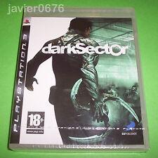 DARK SECTOR  NUEVO Y PRECINTADO PAL ESPAÑA PLAYSTATION 3 PS3