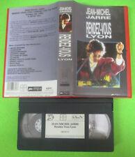 VHS JEAN-MICHEL JARRE Rendez-vous lyon 1989 DREYFUS 080 870 3 (VM3) no mc dvd lp