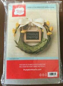 Stampin' Up! Paper Pumpkin April 2016 Lovely Little Wreath