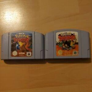 Pokemon N64 Spiele