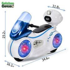 New Kids Motorcycle Electric Ride On Bright LED Light 6V Battery Powered 3 Wheel