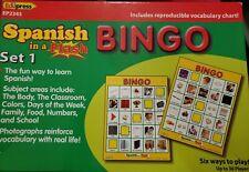 EDUPRESS SPANISH IN A FLASH BINGO SET 1