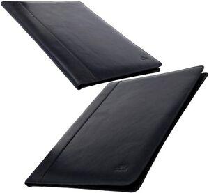 Tony Perotti Leather Blue Writing Case Dark Documents Folder Conference