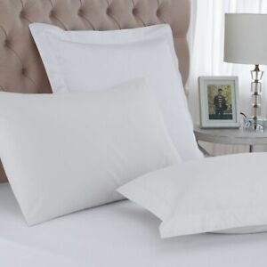 Hotel Quality 200 Thread count 100% Cotton 2 x Oxford Pillow Cases Covers