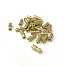 4.7mm Lucas Style Brass Bullet Connector Terminals - Classic British Wiring