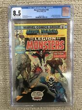 Marvel Premiere #28 Bronze Age Comic CGC 8.5 OWTW Pages Legion Of Monsters