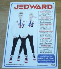 JEDWARD (UK Concert Tour Flyer) Planet Jedward