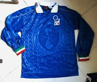 Maglia Shirt Italia WC 1985 #8 Match Worn Long Slevees