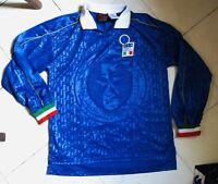 Maglia Shirt Italia WC 1985 #8 Match Worn Long Slevees