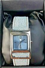 Montre LIP Quartz pour Femme bracelet jean ref: 1097212