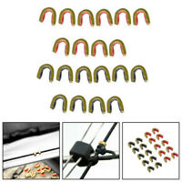 Archery String Nocking Points Brass Nock Buckle Clips Bowstring Protect New