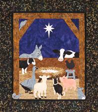 A Barnyard Christmas Quilt Kit by Sweet Season Quilts #SSQ105K