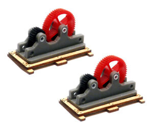 Bachmann 39106 HO SCALE CAR LOAD MACHINERY PARTS - KIT (2 PER PACK) HH