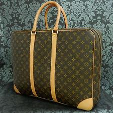 Rise-on LOUIS VUITTON MONOGRAM Sirius 24 Heures Soft Suitcase Travel Bag #5 t