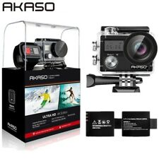 AKASO Brave 4 4K 20MP Underwater WiFi Action Camera with Accessories Sony Sensor