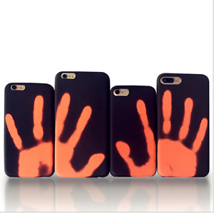 2017 Heat Sensitive Color Changing Hard Case Cover for iPhone 6/6s/7/7 plus